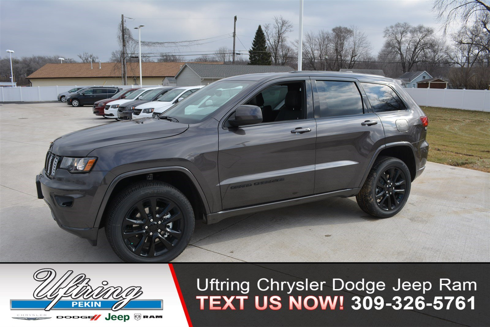 new 2018 jeep grand cherokee altitude sport utility in pekin 1803437 uftring chrysler dodge. Black Bedroom Furniture Sets. Home Design Ideas