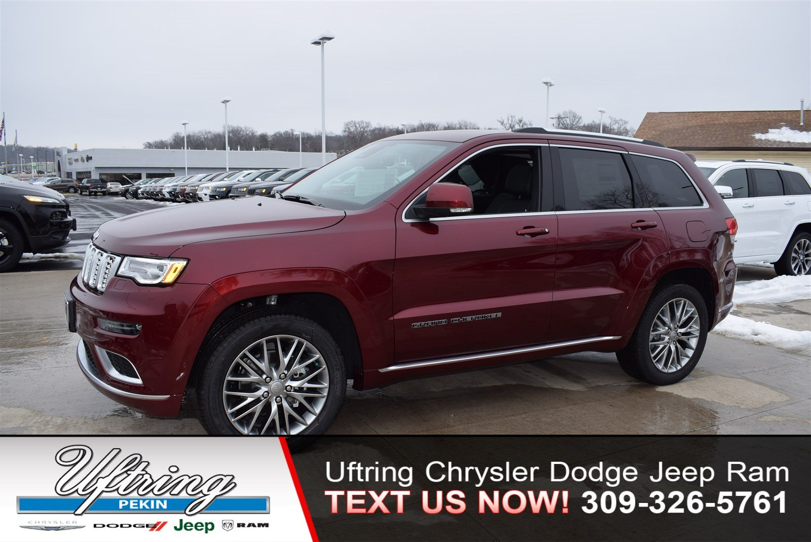 New 2018 Jeep Grand Cherokee Summit Sport Utility In Pekin