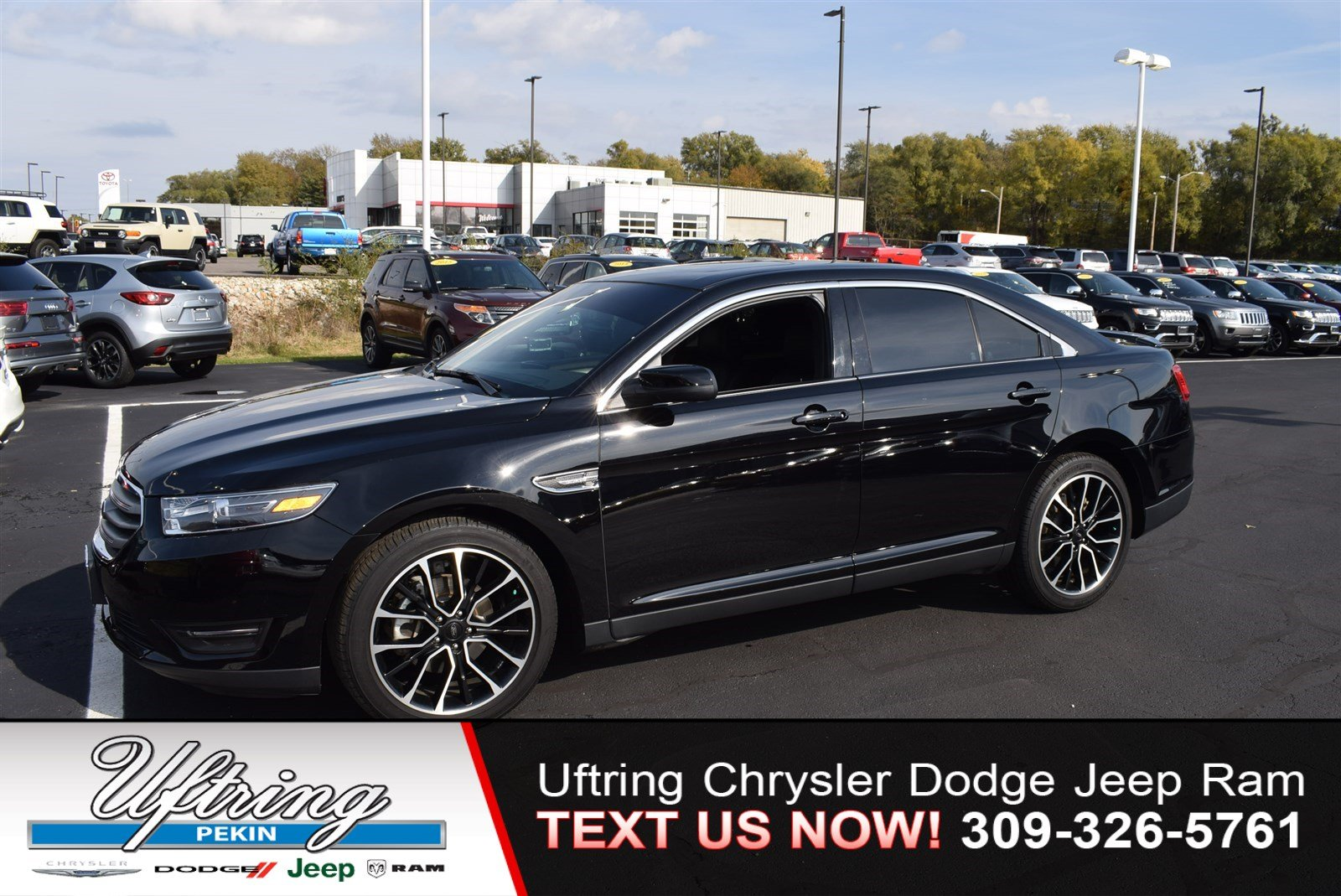 Pre owned 2017 ford taurus sel