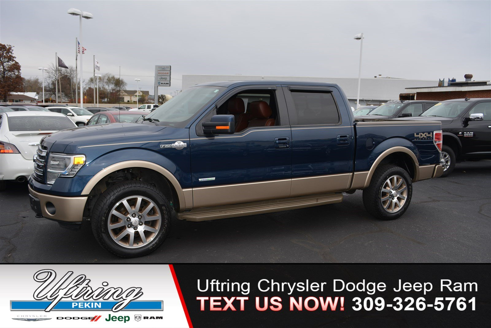 pre owned 2014 ford f 150 king ranch crew cab pickup in. Black Bedroom Furniture Sets. Home Design Ideas
