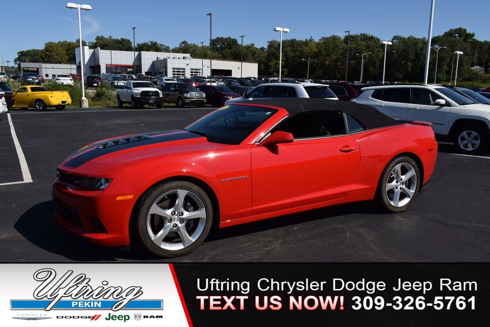 Pre-Owned 2015 Chevrolet Camaro SS
