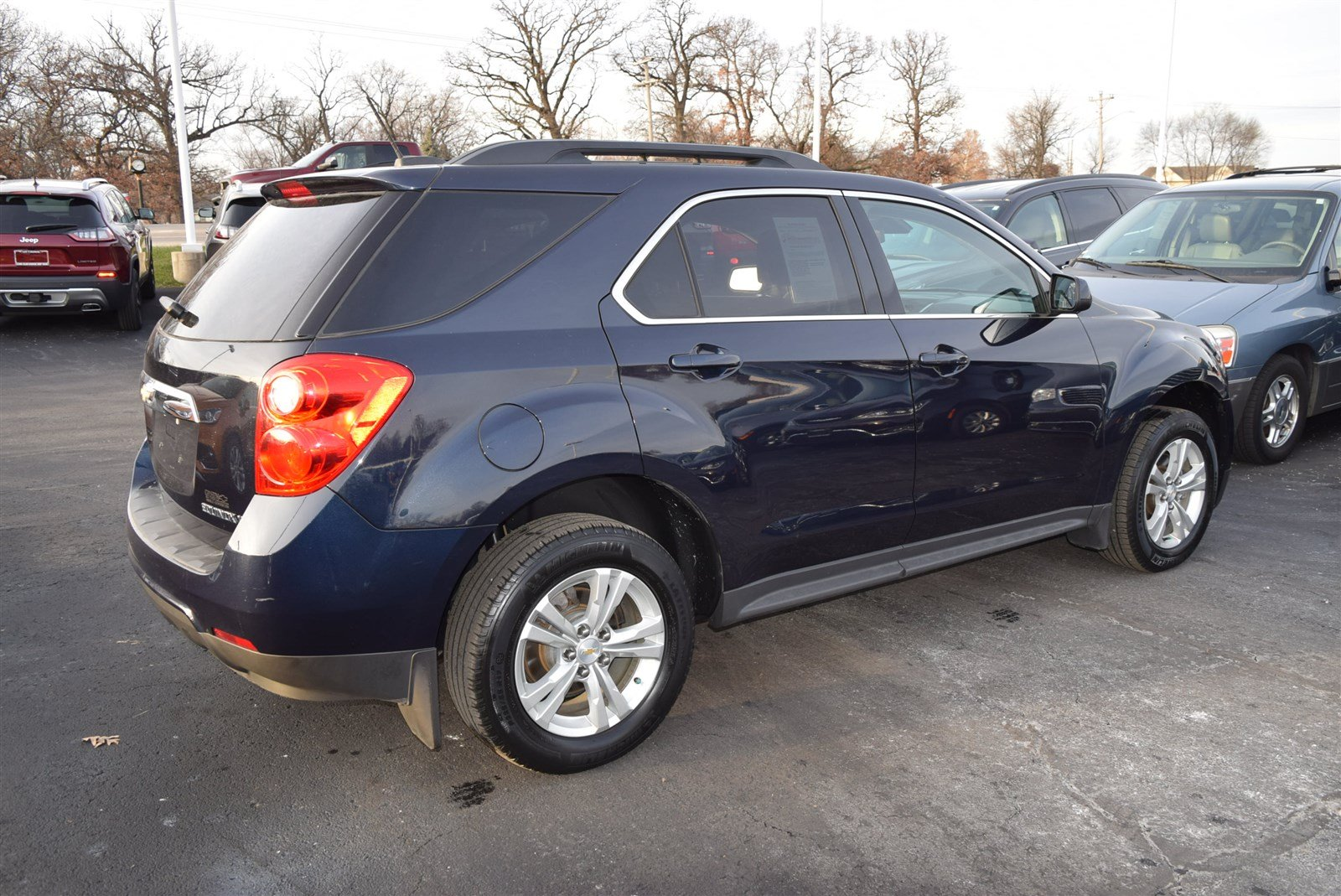 Pre Owned 2015 Chevrolet Equinox Lt Sport Utility In Pekin 1571386 Chrysler Pacifica Also 2006 Chevy Abs Traction Control Sensor