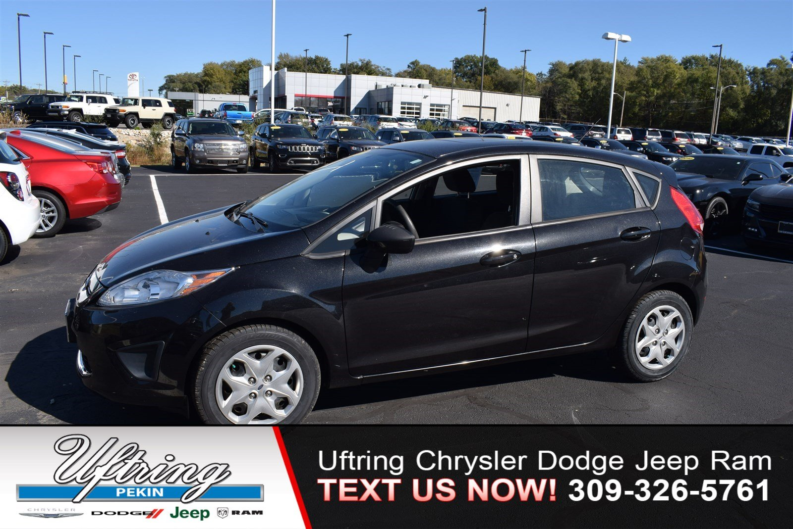 Pre owned 2012 ford fiesta se